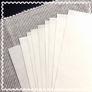 Label backing paper (FREE, pack of 10)