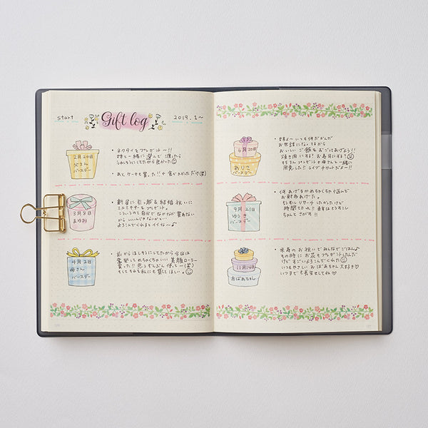 Pine Book my journal sticker - Gift log MJ00151