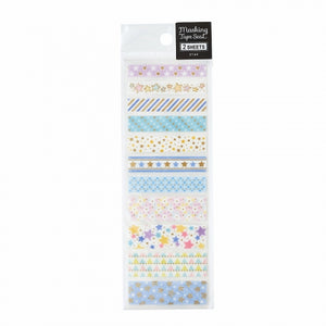 Pine Book gold foil washi sticker - Star TM00888