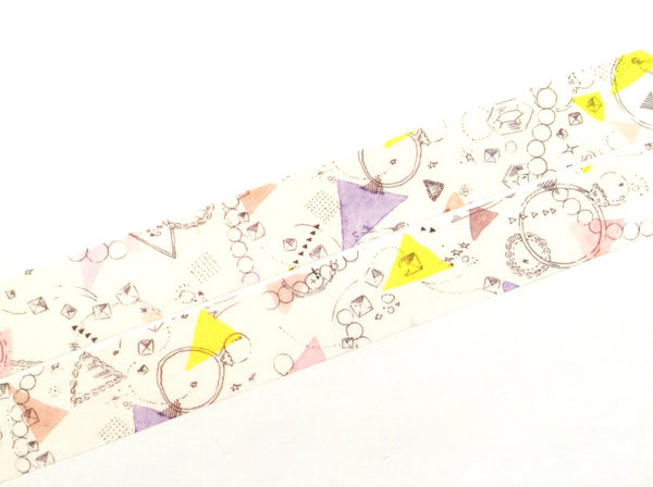 Basic watercolor gems washi tape