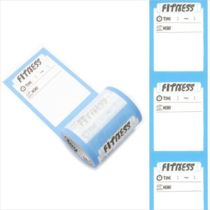 Mark's maste washi tape for diary - Fitness