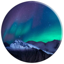 Northern Lights Aurora Borealis - PopSockets Grip and Stand for Phones and Tablets