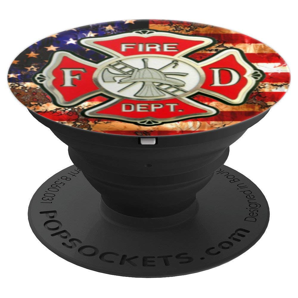 Firefighter Gifts for Men - PopSockets Grip and Stand for Phones and Tablets