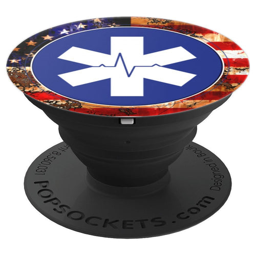 EMT Phone Grips - PopSockets Grip and Stand for Phones and Tablets