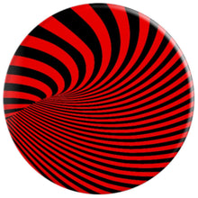Optical Illusion Red & Black - PopSockets Grip and Stand for Phones and Tablets