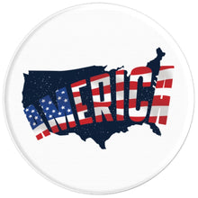 American Flag - PopSockets Grip and Stand for Phones and Tablets