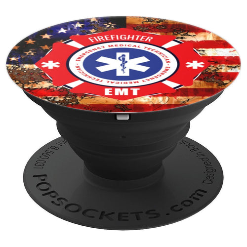 Firefighter Pop Socket - PopSockets Grip and Stand for Phones and Tablets