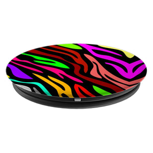 Zebra Print Pop Sockets - PopSockets Grip and Stand for Phones and Tablets