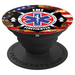 Firefighter  - PopSockets Grip and Stand for Phones and Tablets