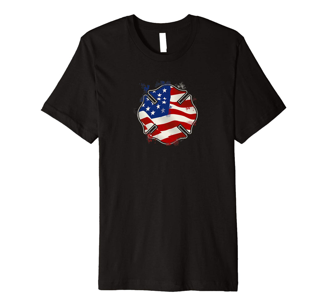 Fire Department - Fire Service - USA Premium T-Shirt