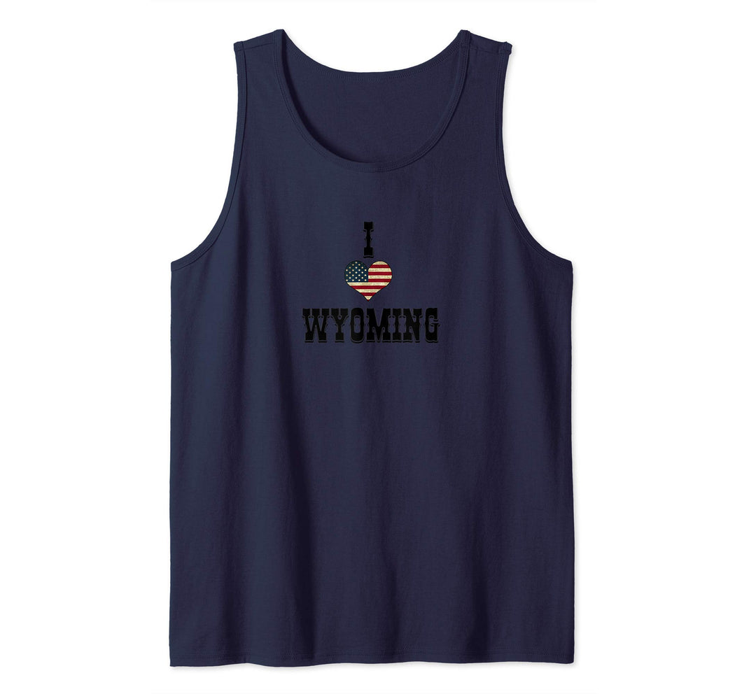 I Love Wyoming Tank Top