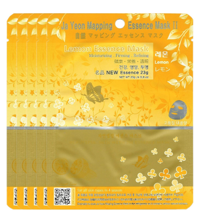 (5 Pieces) Ja Yeon Mapping Lemon Natural Essence Mask