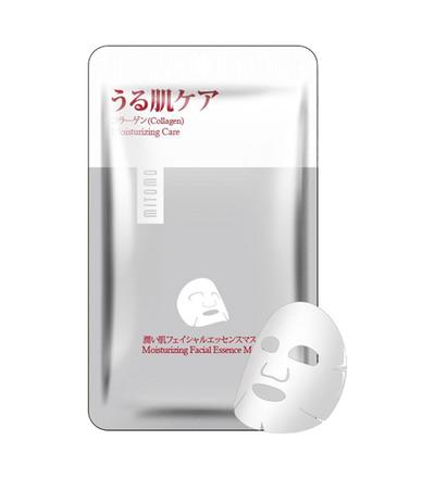 (6 Pieces) Mitomo Japan Collagen Moisturizing Care Facial Essence Mask