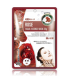 (10 Pieces) MITOMO Natural Rose Soothing Facial Essence Mask