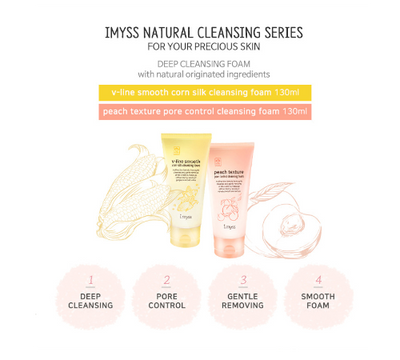 Set Ja Yeon Mapping Face Mask & Imyss Anti-Wrinkle Cleansing Foam