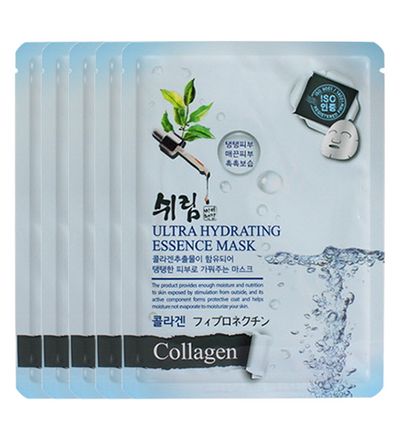(5 Sheet Masks) Shelim Collagen Ultra Hydrating Essence
