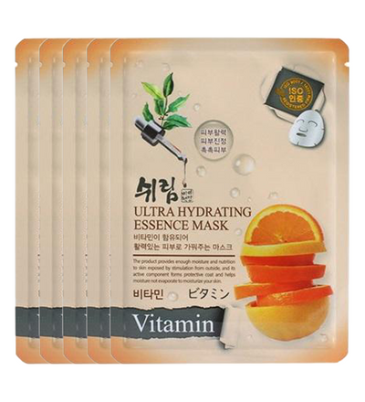 (5 Sheet Masks) Shelim Vitamin Ultra Hydrating Essence