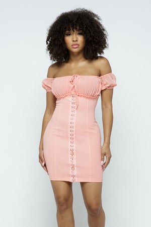 Sweet Dreams Dress Blush