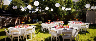 How To Let The Great Outdoors Inspire Your Garden Wedding!