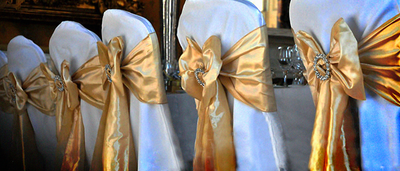 Metallics & Mismatched Wedding Themes