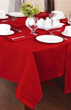 Square Christmas Tablecloths