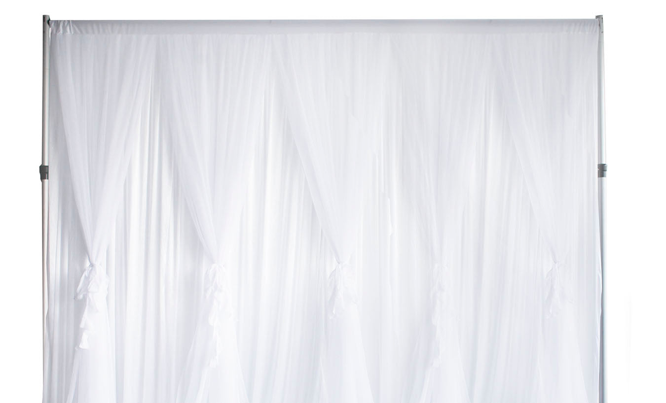 Tulle And Chiffon Backdrops