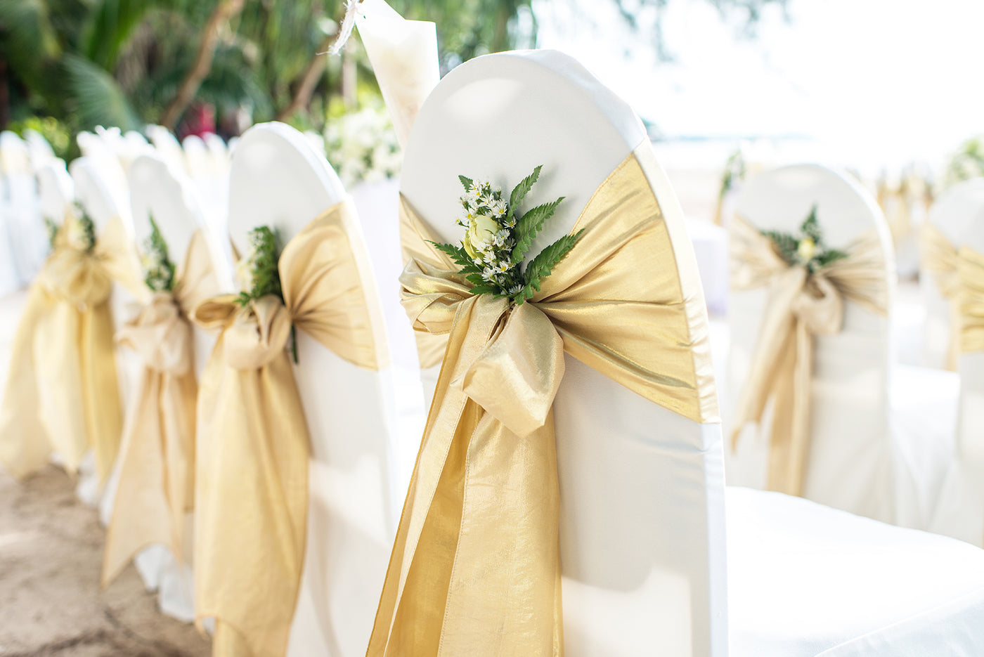 Wedding Chair Sashes & Bands