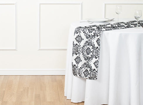 Flocking Table Runners