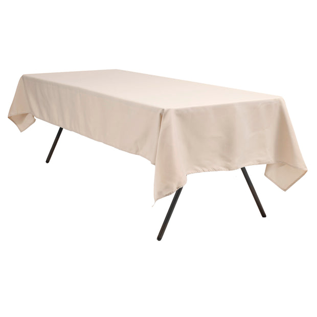 Linen Colour Rectangle Tablecloth (137x244cm)