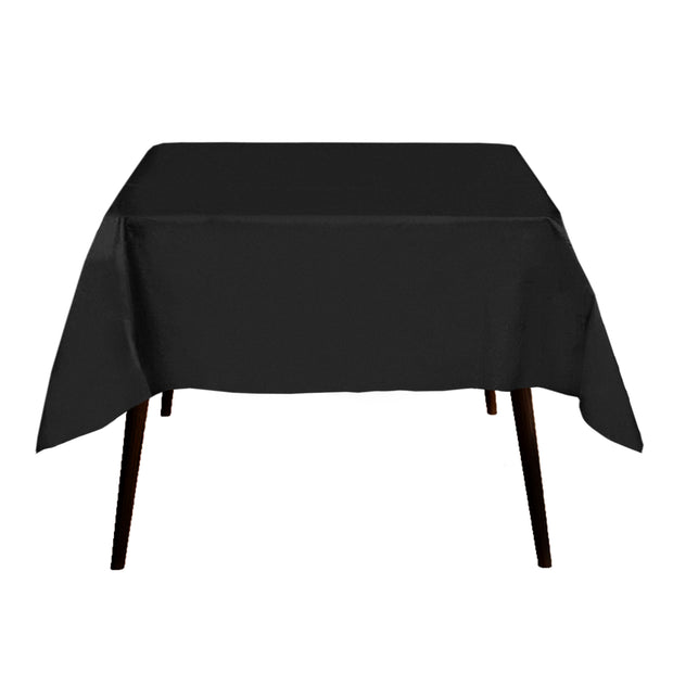 Black Square Tablecloth 150x50cm