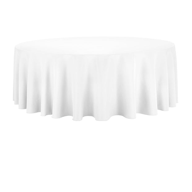 White Round Cake Tablecloth 150cm