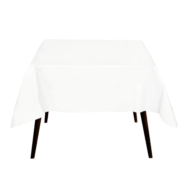 White Square Tablecloth 150x150cm