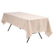 Linen Colour Rectangle Tablecloth (153x259cm)