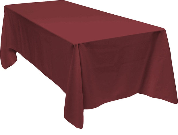 Burgundy Rectangle Tablecloth (153x259cm)