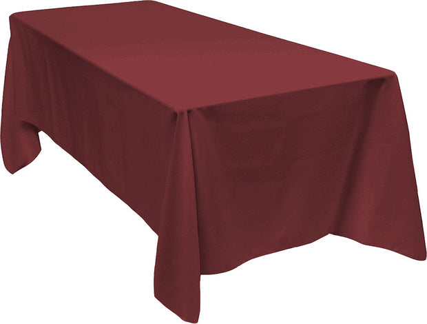Burgundy Rectangle Tablecloth (153x320cm)