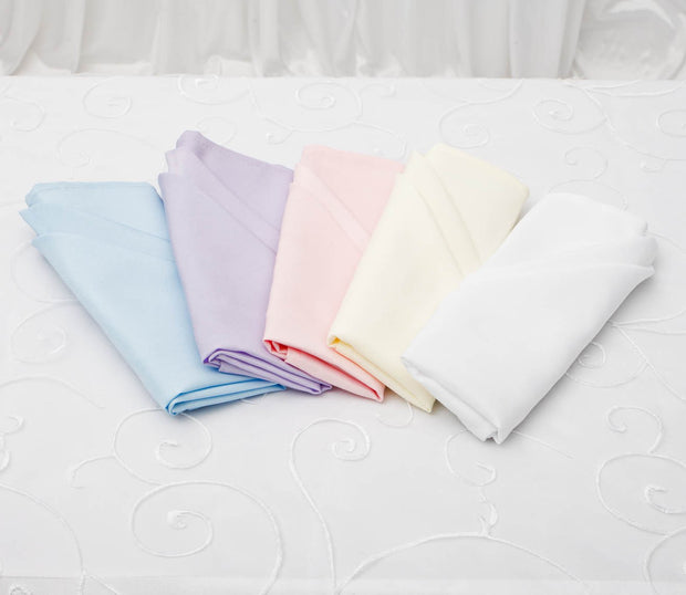 Cloth Napkins - Light Blue (50x50cm) Colour Options