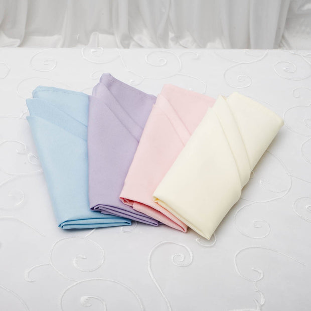 Cloth Napkins - Ivory (50x50cm) Colour Group Options