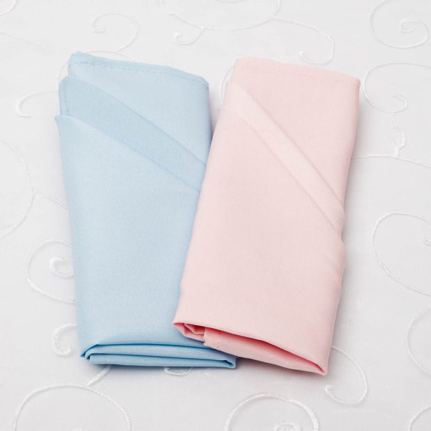 Cloth Napkins - Light Blue (50x50cm) Colour Group