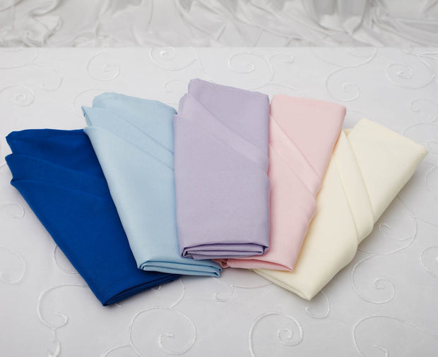 Cloth Napkins - Royal Blue (50x50cm) Colour Group Options