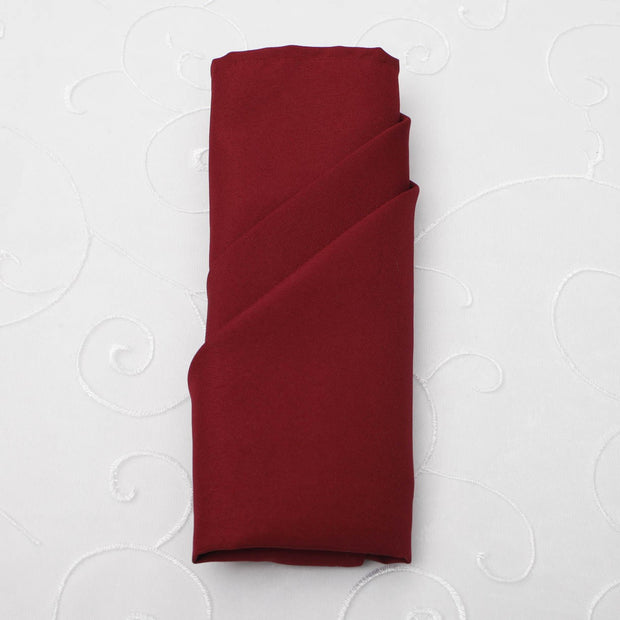 Cloth Napkins - Burgundy (50x50cm)