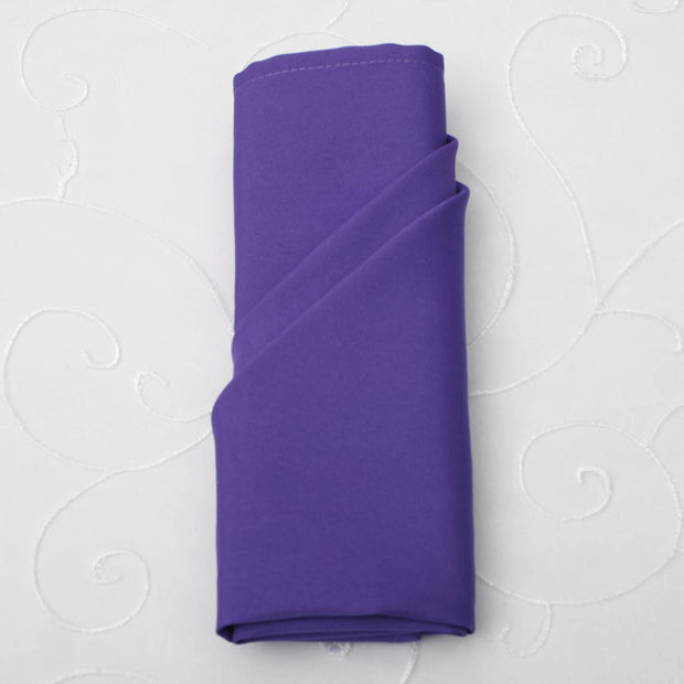 Cloth Napkins - Purple (50x50cm)