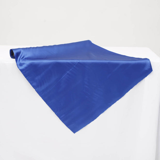 Clearance Satin Fabric Roll - Royal Blue