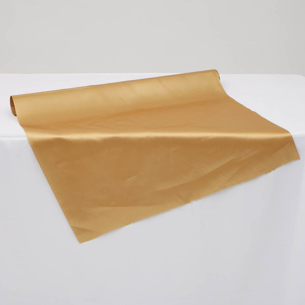 Satin Fabric Roll - Gold