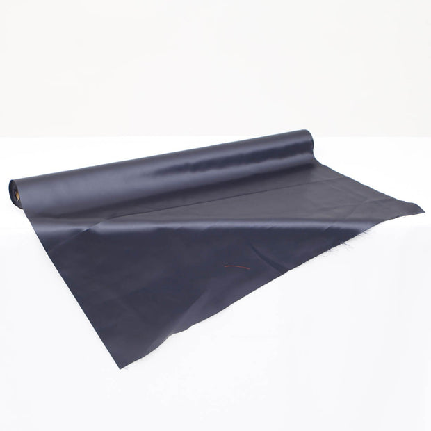 Clearance Satin Fabric Roll - French Navy