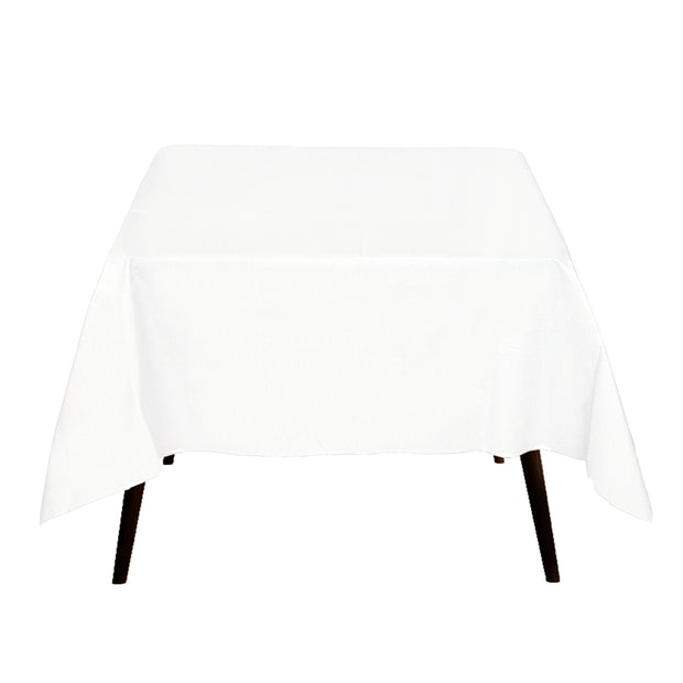 White Square Tablecloth (180x180cm)