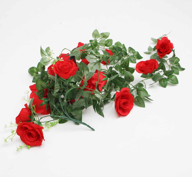 Artificial Red Rose Bouquet 2