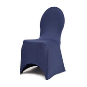 Navy Lycra Chair Covers (190gsm)