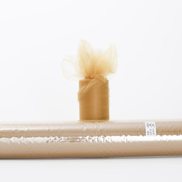 Gold Large Tulle Fabric Roll Bolt Wedding Party Material