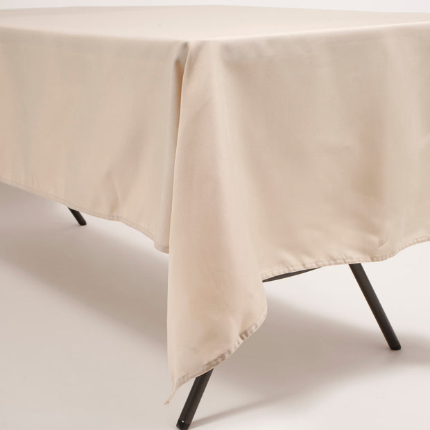 Linen Colour Rectangle Tablecloth (153x259cm) Close A