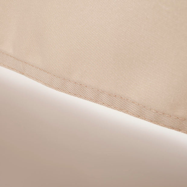 Linen Colour Rectangle Tablecloth (153x259cm) Double Stitching